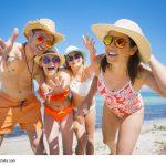 Familie im Urlaub am Strand - Tipps bei Durchfall © drubig-photo - Fotolia.com